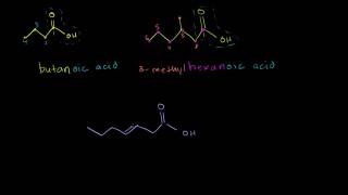 Carboxylic Acid Naming