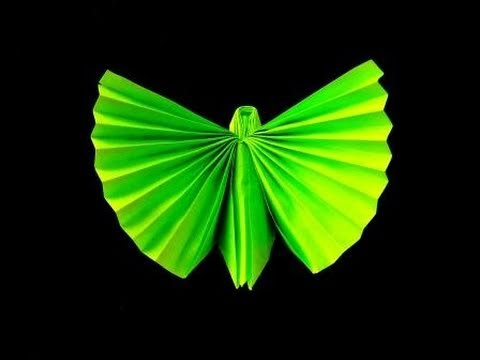 How to make an Origami (Napkin) Butterfly – YouTube
