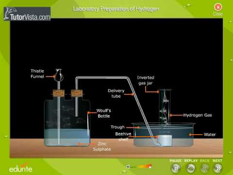 Laboratory Preparation Of Hydrogen