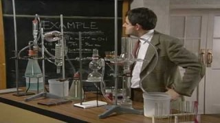 Mr Bean – Chemistry experiment