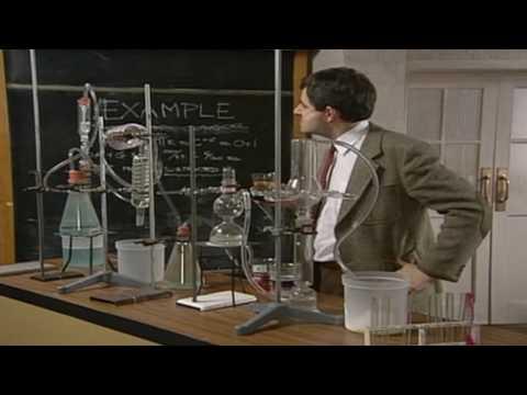 Mr Bean – Chemistry experiment