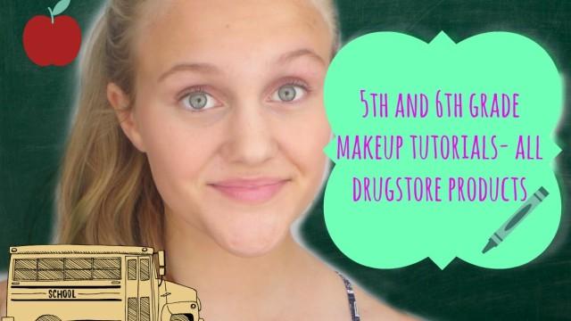 5th/6th Grade Makeup Tutorials! (All Drugstore)