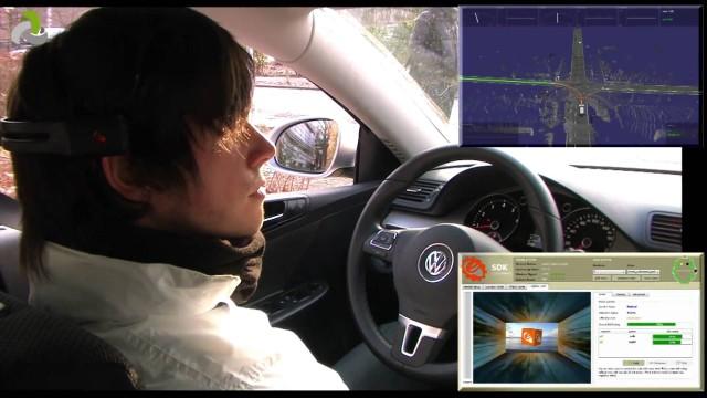 BrainDriver – a mind controlled car