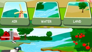 Children's: Earth's Resources – Air, Water, Land. How to Save the Earth's Resources