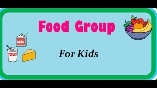 Food Pyramid – Nutrition Table – Food and its groups for kids