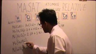 Masat atomike relative dhe masat molekulare relative