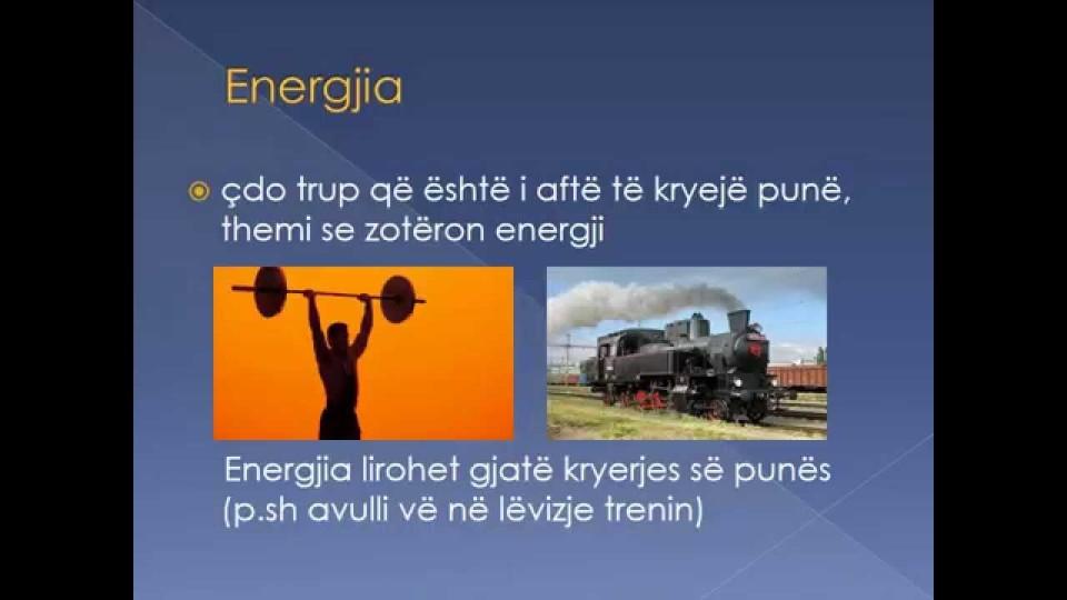 Energjia, Diar Maloku, nxënës i kl 6