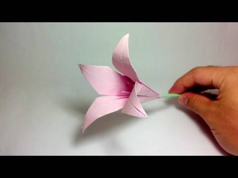 Origami Flower (100th video!)