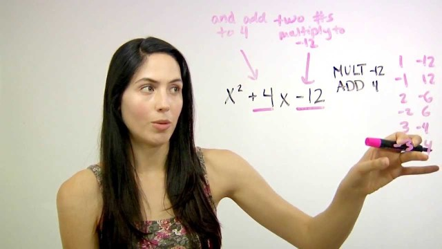 ❤² Shortcut to Factor Quadratics (mathbff)