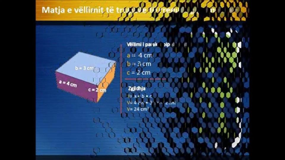 Matja e madhësive fizike – Euron Makolli VI 4, Prof Shqipe Hoxha – Llonçari