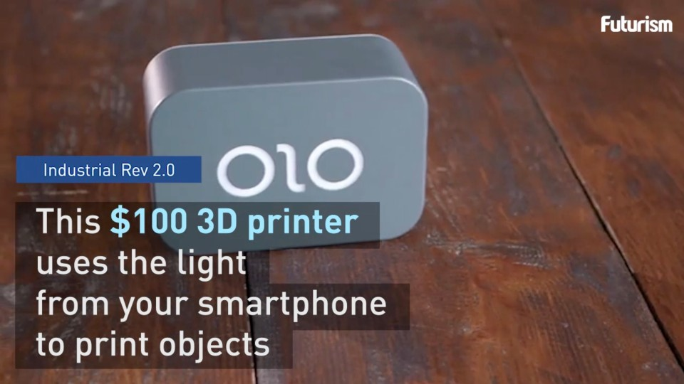 $99 3D Printer For Your Smartphone