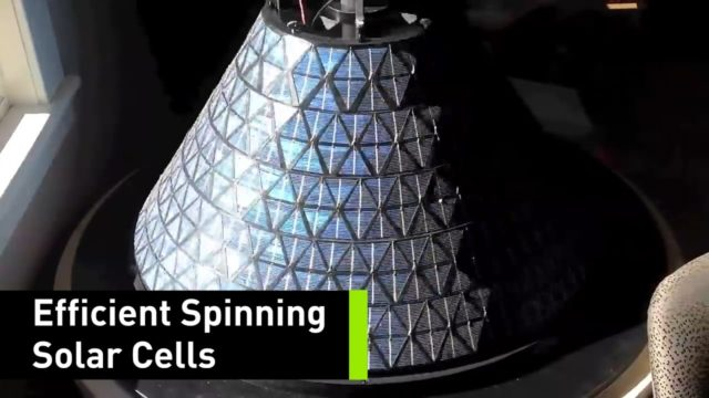 These Spinning Solar Cells Generate 20 Times More Power Than Traditional Panels