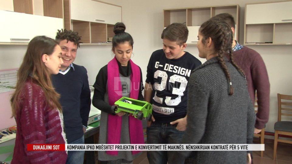 Konvertimi i makinës elektrike, Projekt në hapsirën krijuese Bonevet në Gjakovë