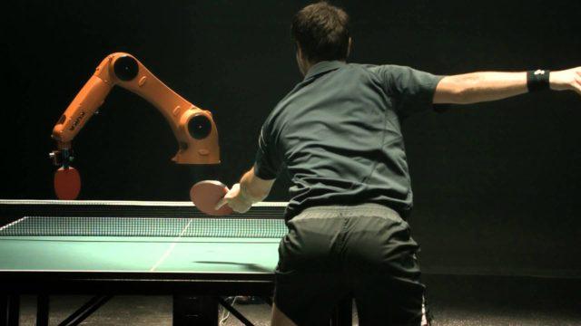 The Duel: Timo Boll vs. KUKA Robot
