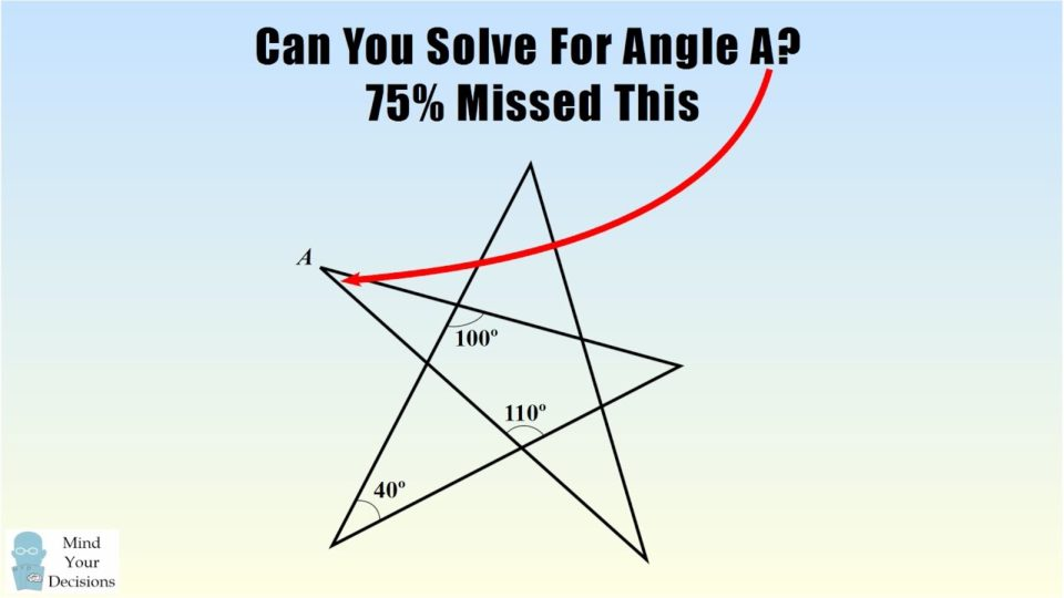 Can You Solve This 8th Grade Geometry Problem? 75% Got The Wrong Answer