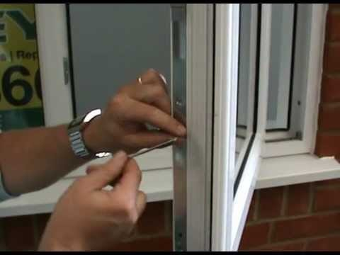 Maintenance of a Double glazed PVC window