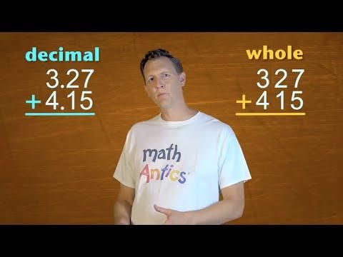 Math Antics – Decimal Arithmetic