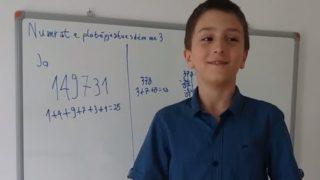 Si të gjejmë se cilët numra janë të plotpjestueshëm me 3