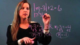 Four Steps to Solve a Absolute Value Equation