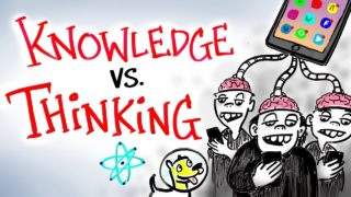 Knowledge vs Thinking – Neil deGrasse Tyson