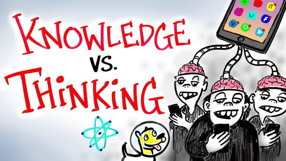 Knowledge vs Thinking – Neil deGrasse Tyson
