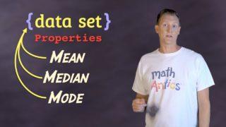Math Antics – Mean, Median and Mode
