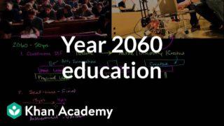 Year 2060: Education Predictions