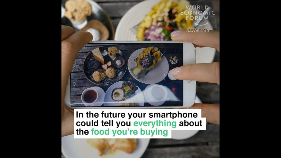 In the future your smartphone could tell you everything about the food you're buying