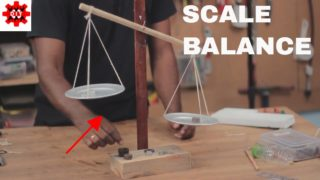 How to make a Balance Scale