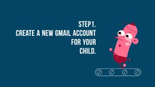 How to set up safe gmail for your child!