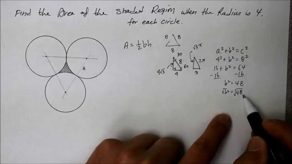 910 GE Three Circles Tangent To Each Other